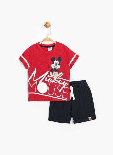 Mickey Mouse 2 li Takım Kırmızı